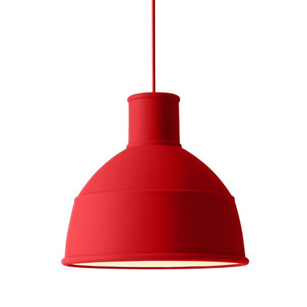 Muuto, Unfold Lamp, Dusty red