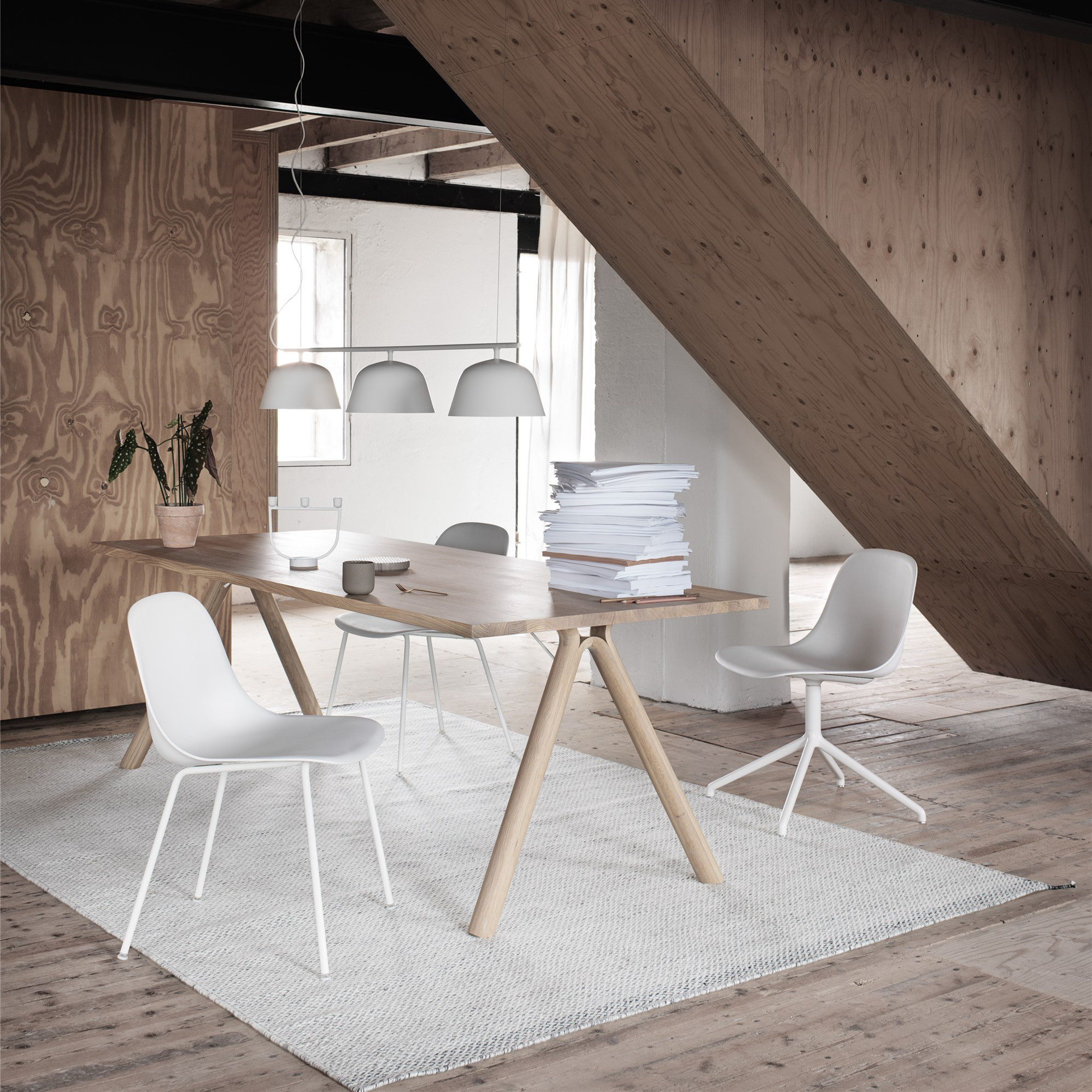 Muuto, Fiber Chair, White