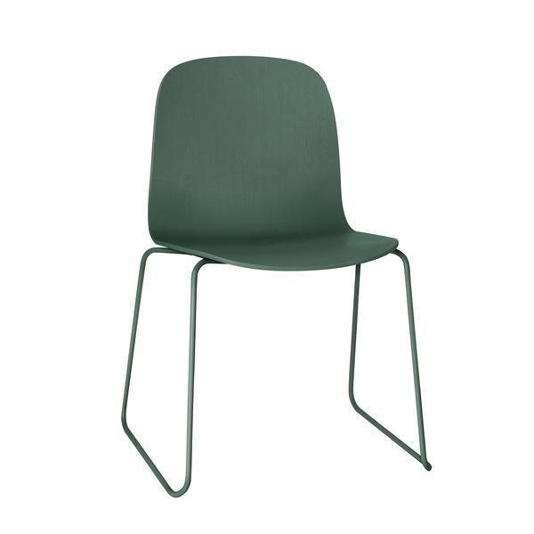 Muuto, Visu Chair, Sled base, Green