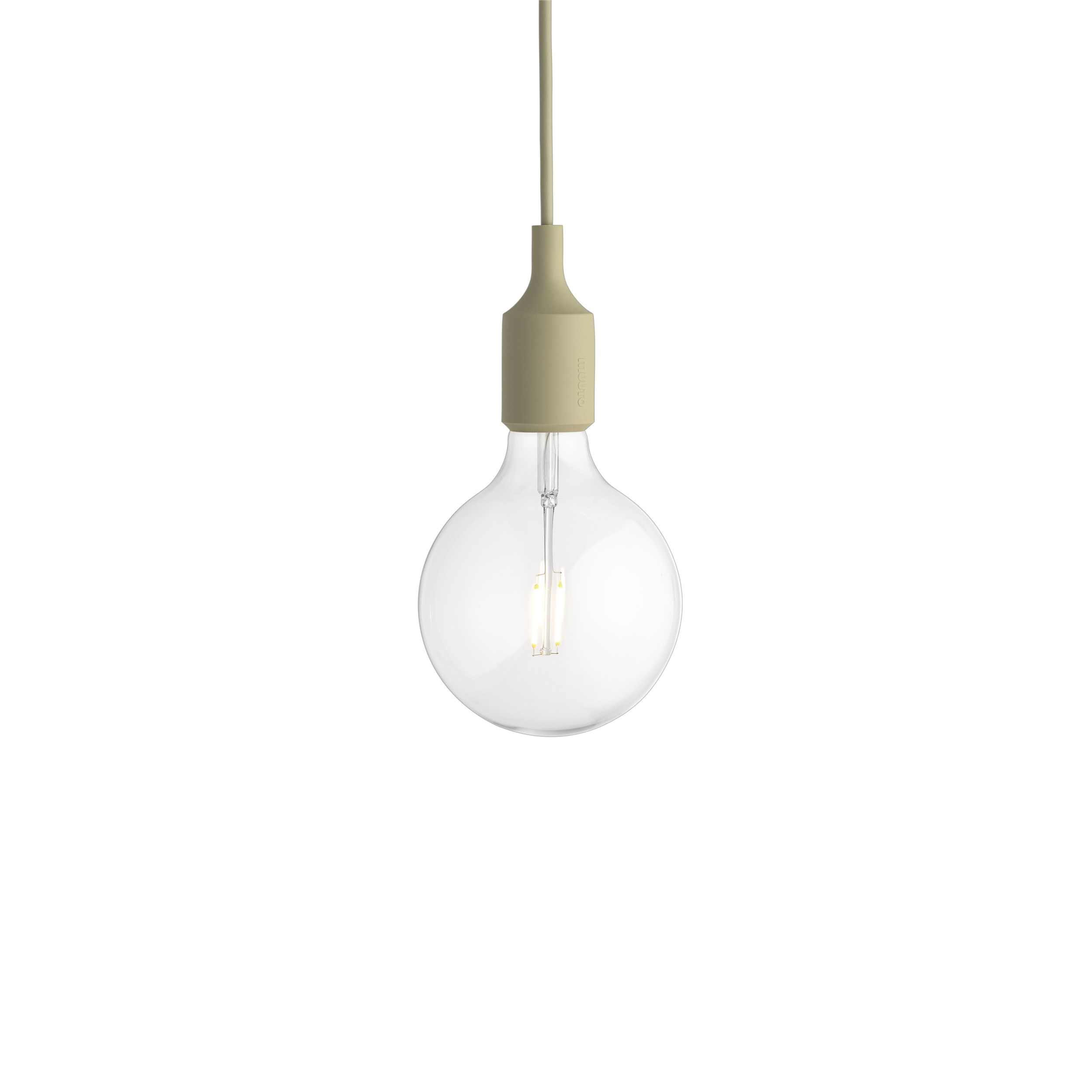 Muuto, E27 Lamp LED, Beige green