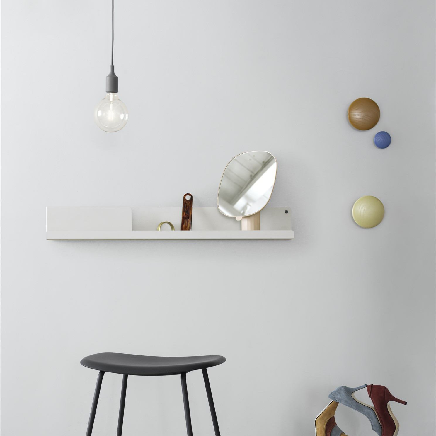 E27 Lamp, Dark grey