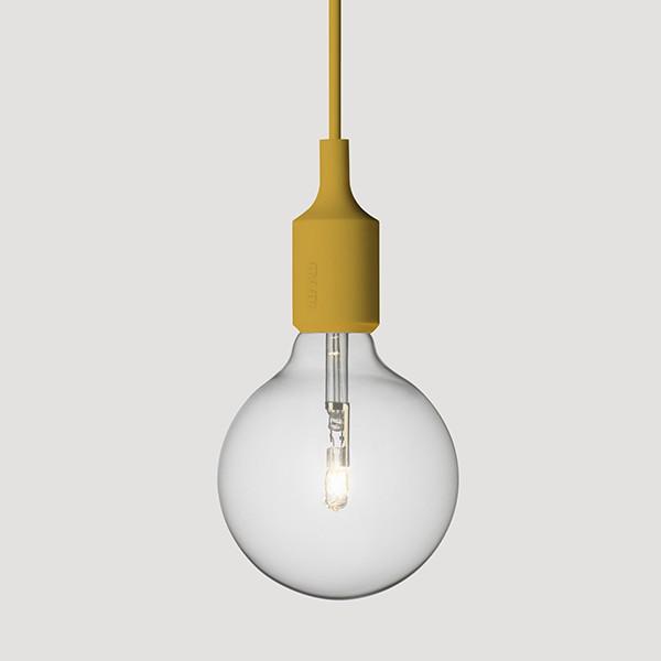 E27 Lamp, Mustard