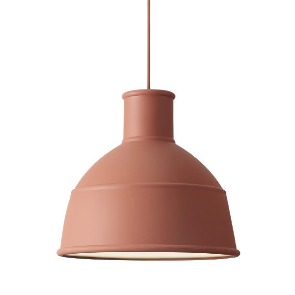 Muuto, Unfold Lamp, Terracotta