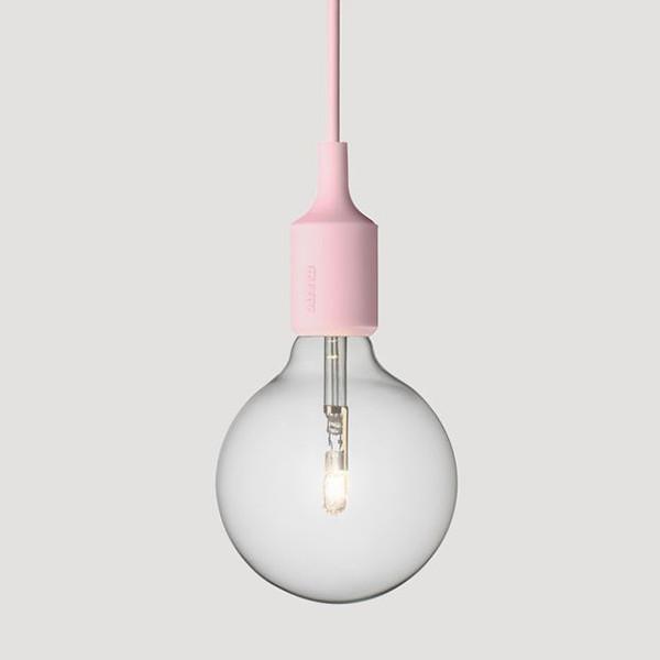 Muuto, E27 Lamp, Rose