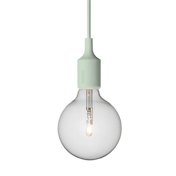 E27 Lamp, Light green