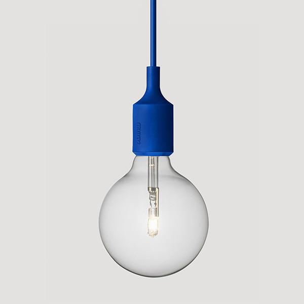 E27 Lamp, Blue