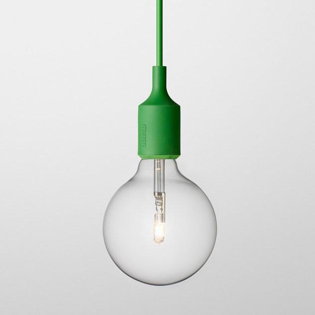 E27 Lamp, Green
