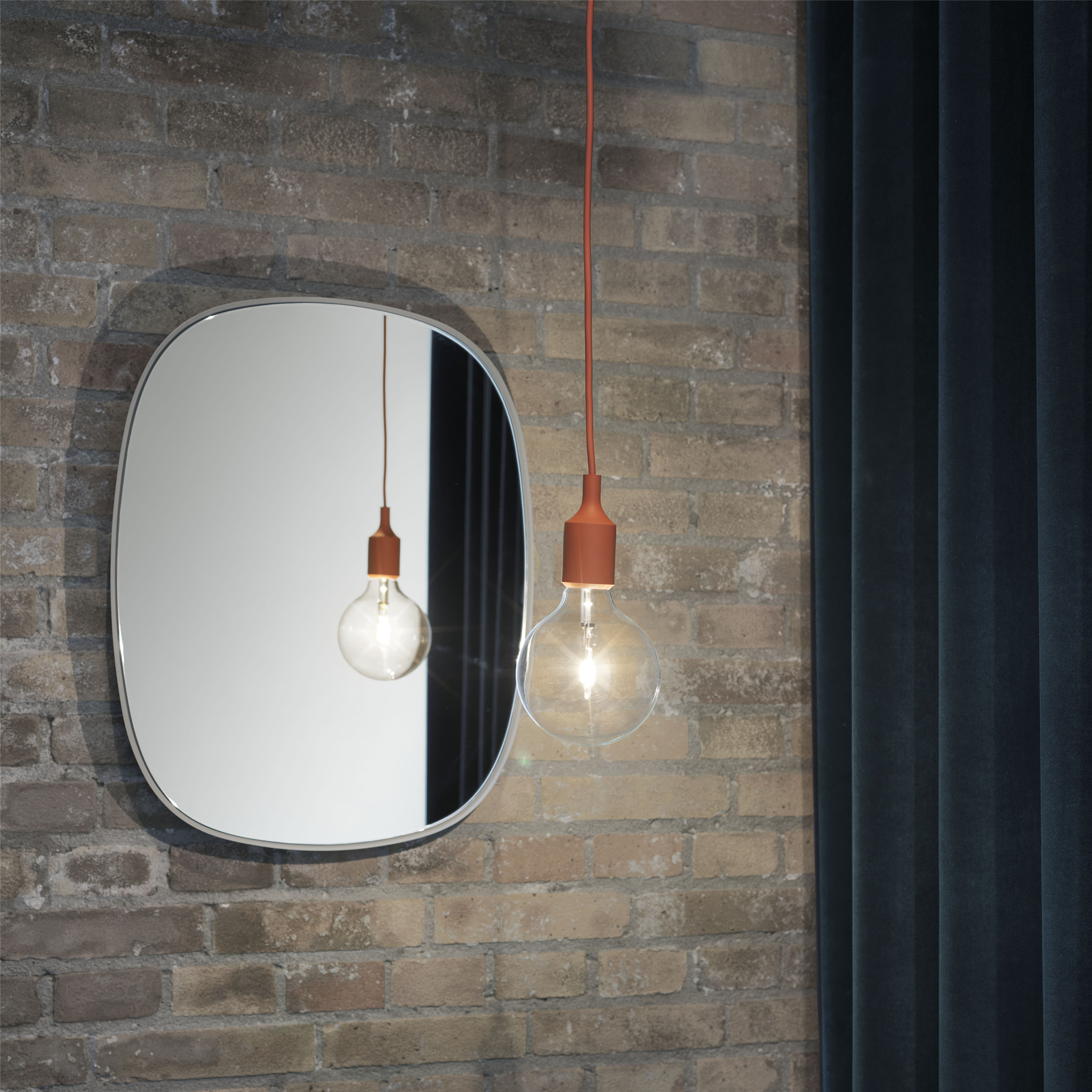 E27 Lamp, Orange