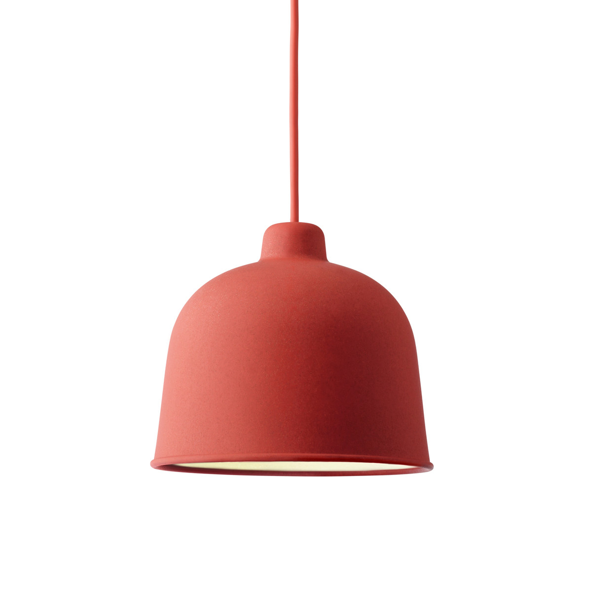 Grain lamp, Dusty red