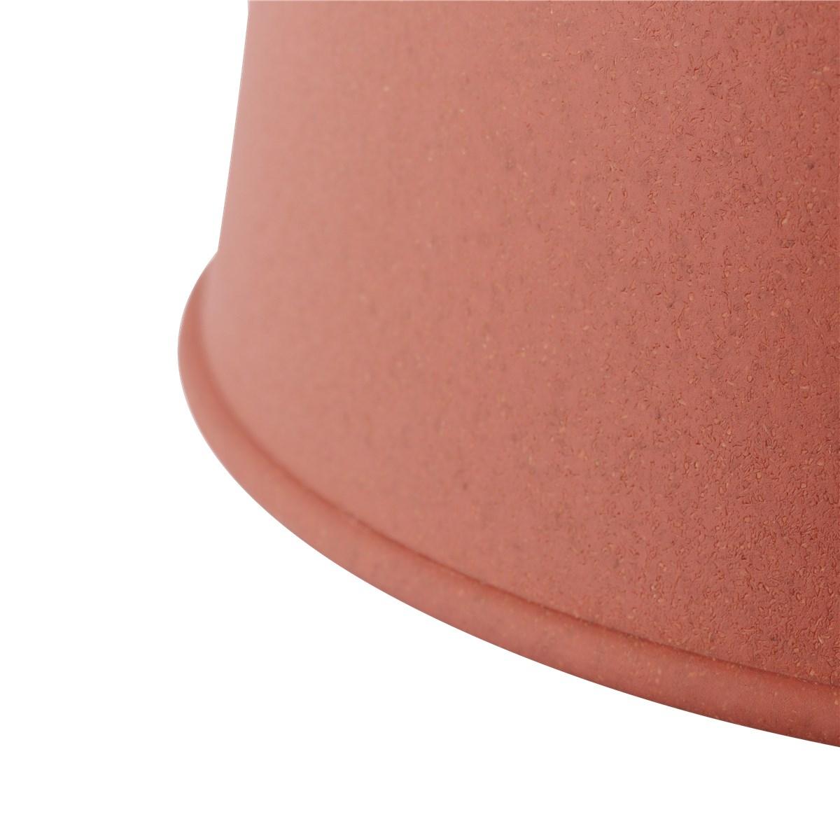 Grain lamp, Dusty red