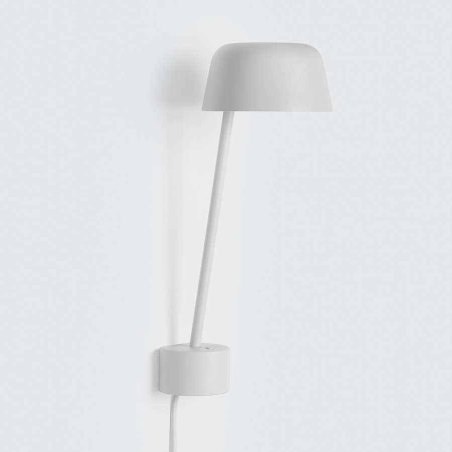 Lean lamp, Grey